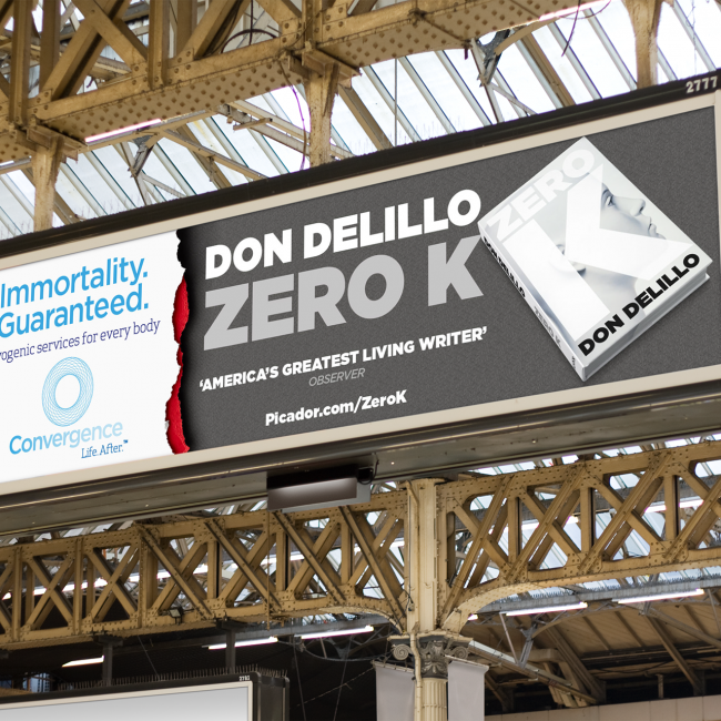 Zero K – Don Delillo